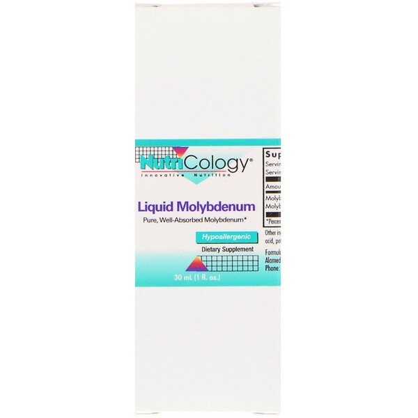Nutricology, Liquid Molybdenum, 1 fl oz (30 ml)