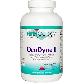 Nutricology, OcuDyne II, 200 Veggie Caps