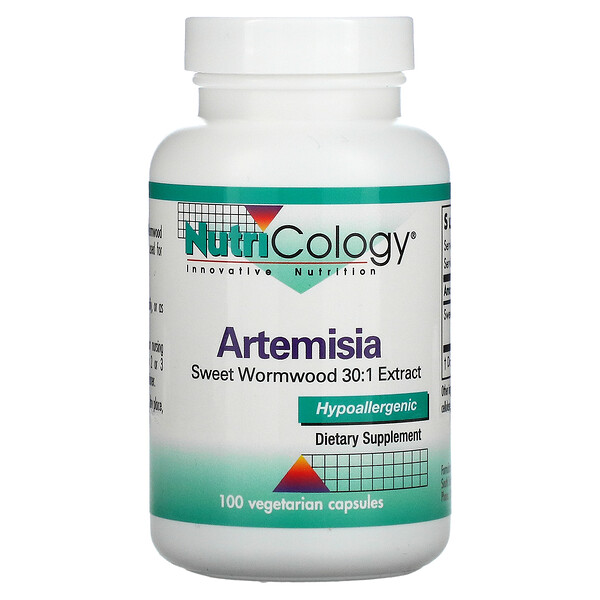 Artemisia, 100 Vegetarian Capsules