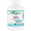Nutricology, NAC, N-Acetyl-L-Cysteine, 120 Tablets