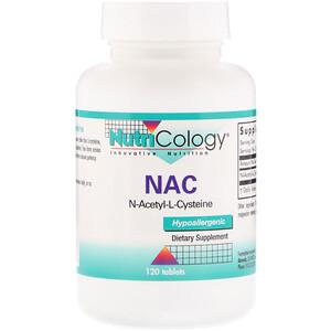 Нутриколоджи, NAC N-Acetyl-L-Cysteine, 120 Tablets отзывы