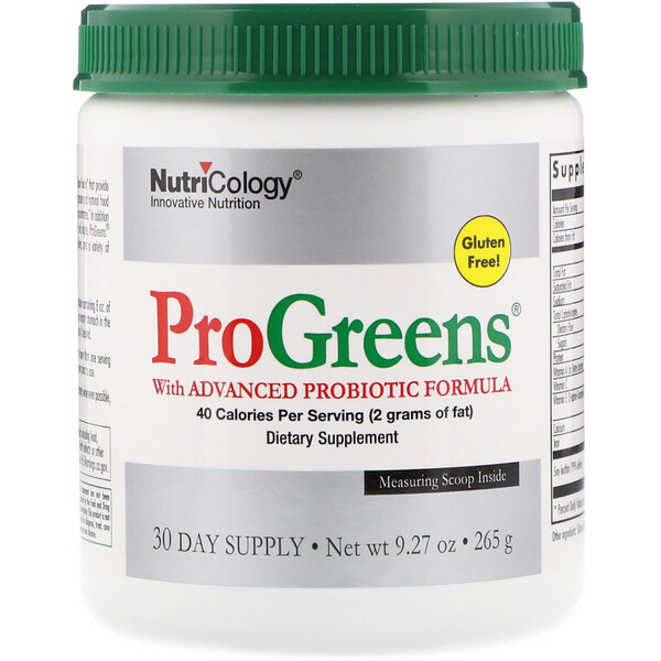 ProGreens with Advanced Probiotic Formula, 9.27 oz (265 g)