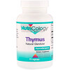 Nutricology, Thymus, 75 Vegicaps
