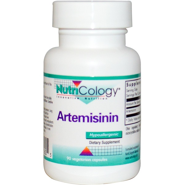 Nutricology, Артемизинин, 90 овощных капсул