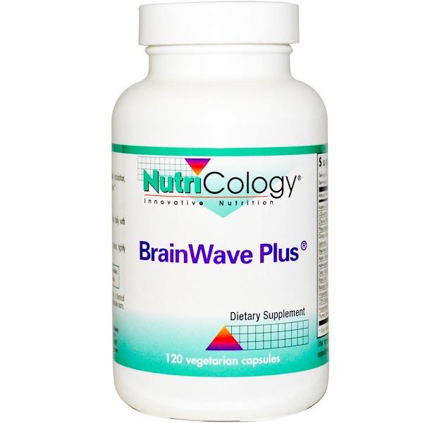Nutricology, BrainWave Plus, 120 Veggie Caps (Discontinued Item)