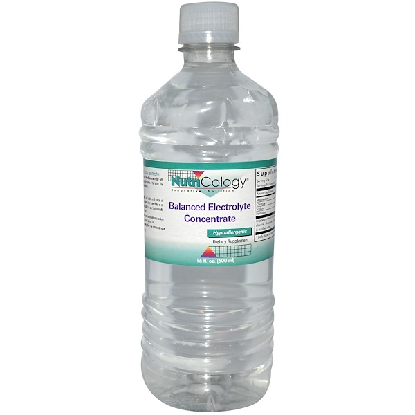 Nutricology, Balanced Electrolyte Concentrate, 16 fl oz (500 ml) (Discontinued Item)