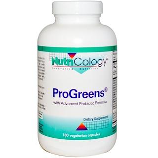 Nutricology, ProGreens, 180 Veggie Caps