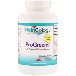 Нутриколоджи, ProGreens, 180 Vegetarian Capsules отзывы