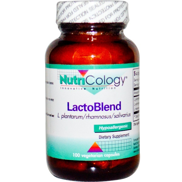 Nutricology, LactoBlend, 100 Veggie Caps (Ice)  (Discontinued Item)