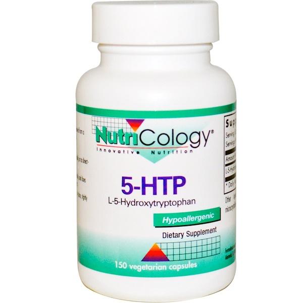 Nutricology, 5-HTP, 150 Veggie Caps (Discontinued Item)
