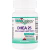 Nutricology, DHEA 25, Micronized Lipid Matrix, 60 Scored Tablets