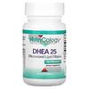 Nutricology, DHEA 25, מטריקס ליפידים מיקרוני, 60 טבליות ניתנות לחלוקה