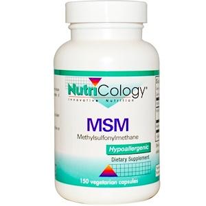 Нутриколоджи, MSM, (Methylsulfonylmethane), 150 Veggie Caps отзывы
