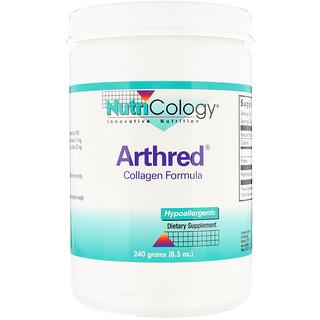 Nutricology, Arthred, Collagen Formula, 8.5 oz (240 g)