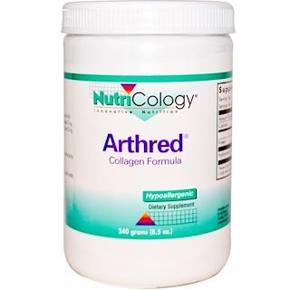 Nutricology, Arthred, формула с коллагеном, 8,5 унций (240 г)
