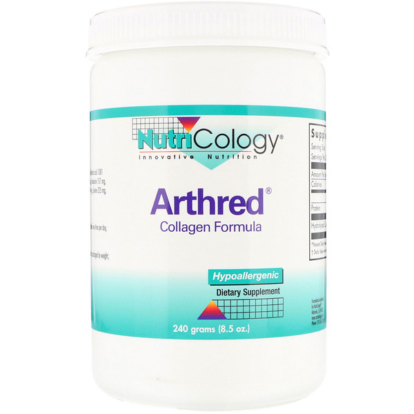 Nutricology, Arthred, Collagen Formula, 8.5 oz (240 g) (Discontinued Item)