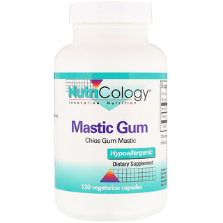 Nutricology, Mastic Gum, 120 Cápsulas Vegetales