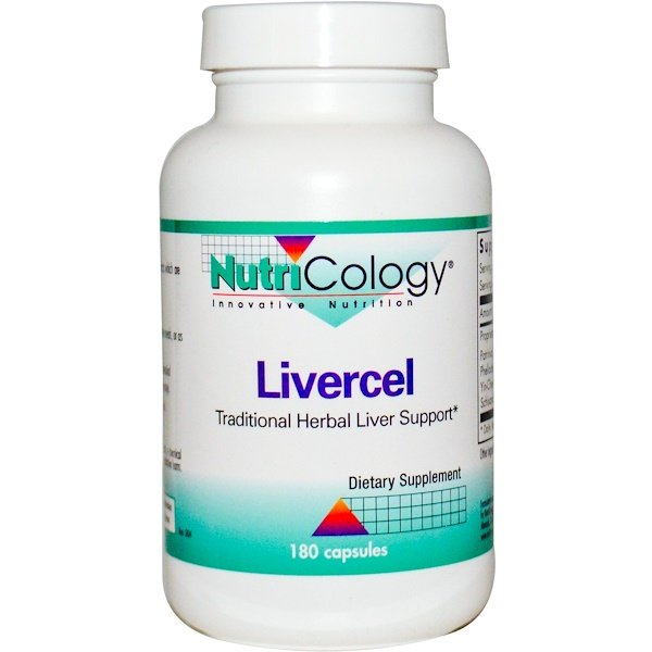 Nutricology, Livercel, 180 Capsules (Discontinued Item)