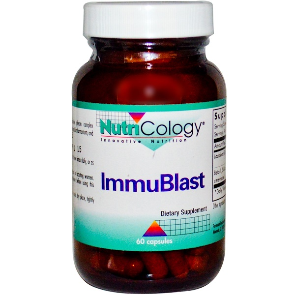 Nutricology, ImmuBlast, 60 Capsules (Discontinued Item)