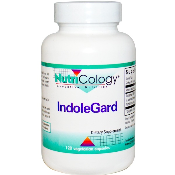 Nutricology, IndoleGard, 120 капсул в растительной оболочке (Discontinued Item)