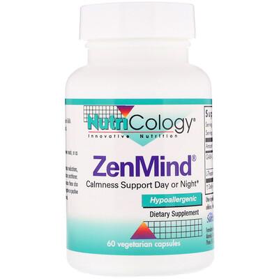 Купить Пищевая добавка ZenMind, 60 растительных капсул