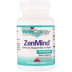Nutricology, ZenMind,60粒素食膠囊