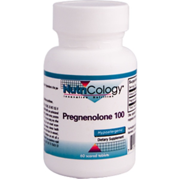 Nutricology, Pregnenolone 100, 60 Scored Tablets (Discontinued Item)