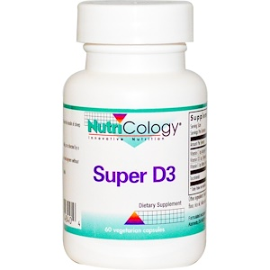 Нутриколоджи, Super D3, 60 Veggie Caps отзывы