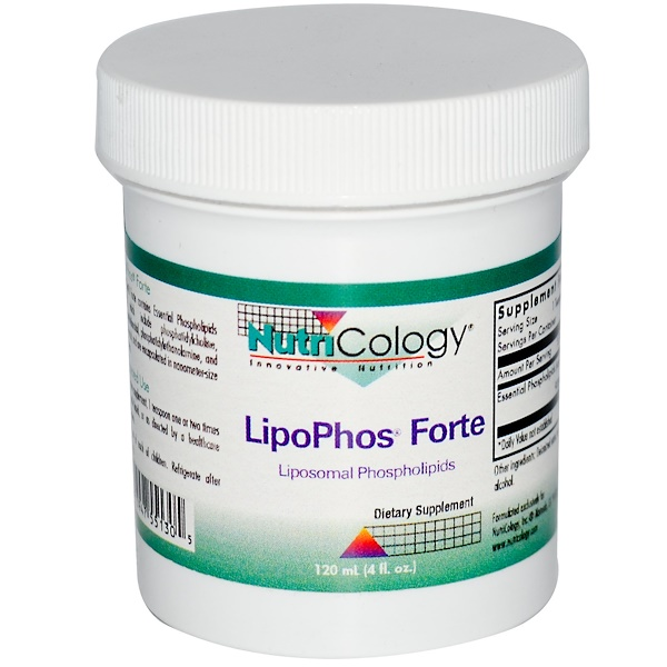Nutricology, LipoPhos Forte, 4 fl oz (120 ml) (Discontinued Item)