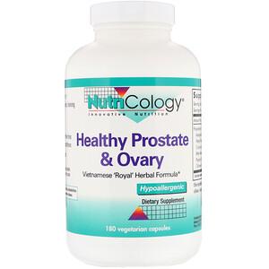 Нутриколоджи, Healthy Prostate & Ovary, 180 Vegetarian Capsules отзывы