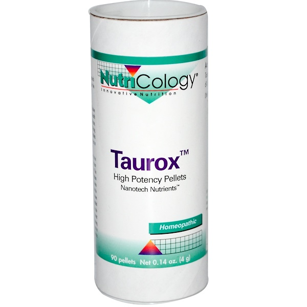 Nutricology, Taurox, High Potency, 90 Pellets (Discontinued Item)