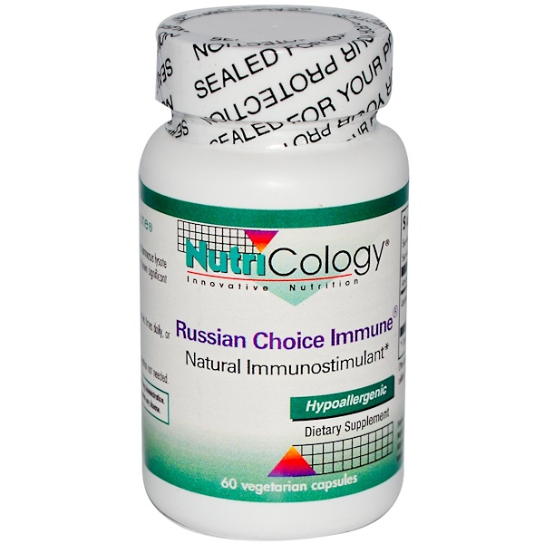 Nutricology, Russian Choice Immune, 60 Veggie Caps (Discontinued Item)