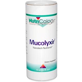 Nutricology, Mucolyxir, 12 ml (0.4 fl oz)