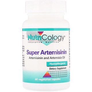 Nutricology, Super Artemisinin, 60 Vegetarian Capsules