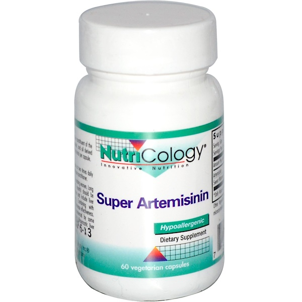 Nutricology, Супер артемизинин, 60 вегетарианских капсул