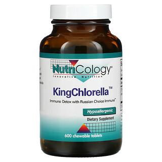 Nutricology, KingChlorella, 600 Chewable Tablets