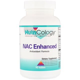 Nutricology, NAC Enhanced , 90 Tablets
