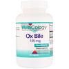 Nutricology, Ox Bile, 125 mg, 180 Vegicaps