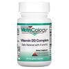 Nutricology, Vitamin D3 Complete, 60 Fish Gelatin Capsules