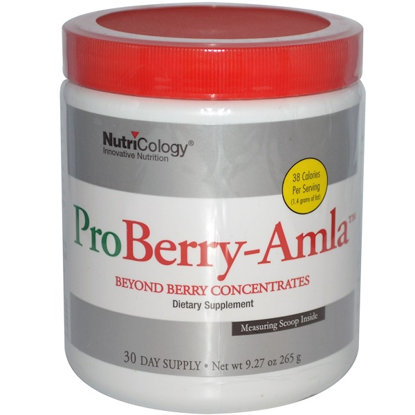 Nutricology, ProBerry-Amla, Beyond Berry Concentrates, 9.27 oz (265 g) (Discontinued Item)