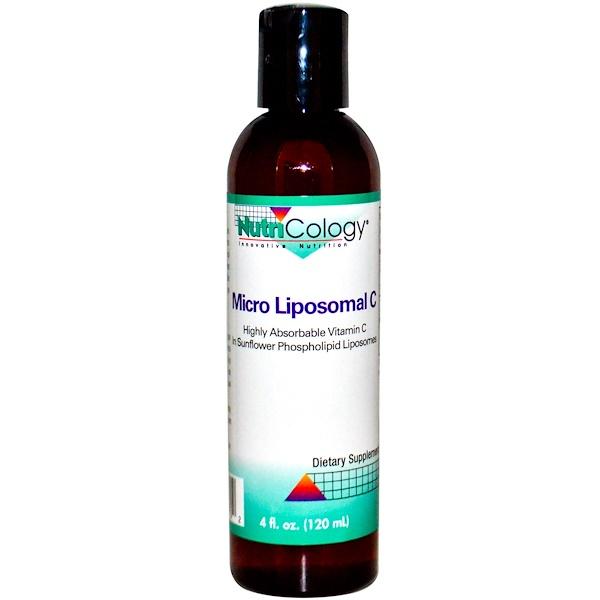 Nutricology, Micro Liposomal C, 4 fl oz (120 ml)