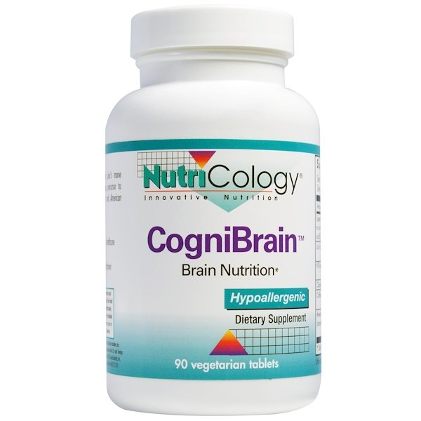 Nutricology, CogniBrain, Brain Nutrition, 90 Veggie Tablets (Discontinued Item)