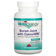 Nutricology, Boron Joint with CurcuWin,120 粒素食膠囊