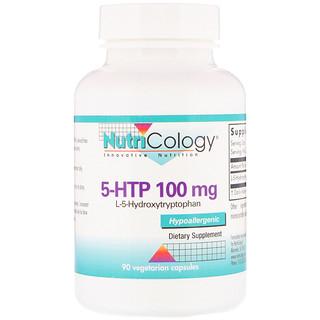 Nutricology, 5-HTP, 100 mg , 90 Vegetarian Capsules