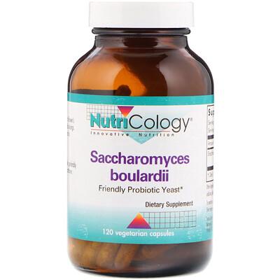 Купить Nutricology Сахаромицеты Буларди, пробиотические дрожжи, 120 вегетарианских капсул