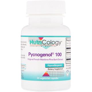 Nutricology, Pycnogenol 100, 30 Vegetarian Capsules
