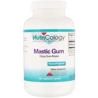 Nutricology, Mastic Gum, Chios Gum Mastic, 240 Vegetarian Capsules