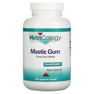 Nutricology, Mastic Gum, 240 Vegetarian Capsules