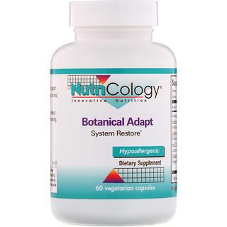 Nutricology, Botanical Adapt, System Restore, 60 Vegetarian Capsules