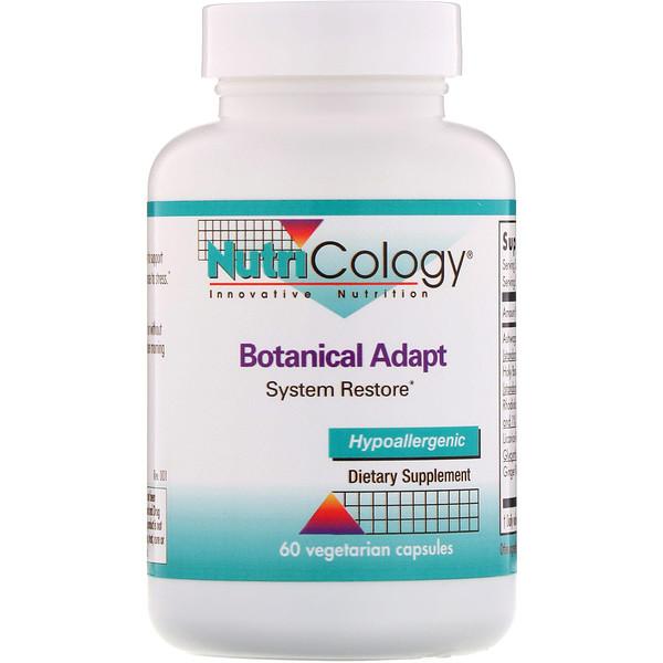 Botanical Adapt, System Restore, 60 cápsulas vegetarianas